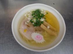 蟹塩ラーメン